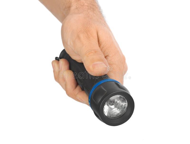 Lampe-torche à disposition images libres de droits