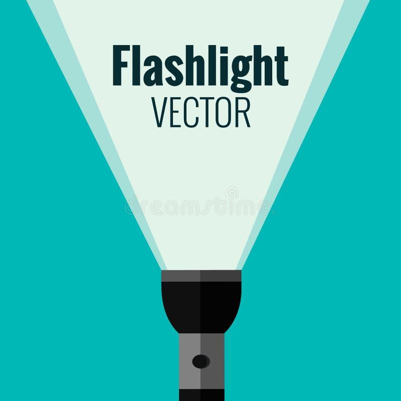 lampe-torche illustration libre de droits