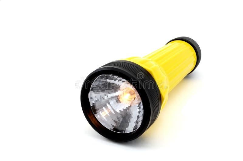 Lampe-torche d'isolement photo stock