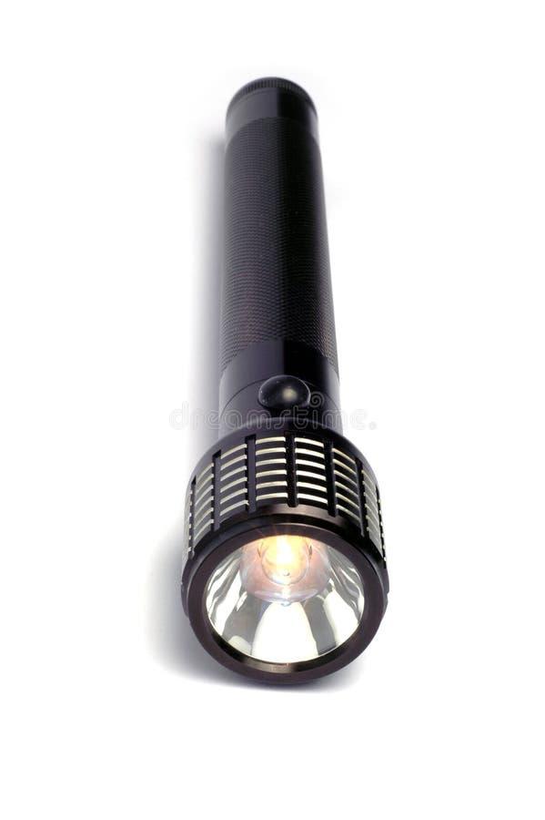 Download Lampe-torche noire photo stock. Image du électrique, illumination - 8665744
