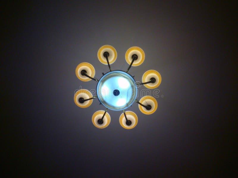 Lampe vom Himmel lizenzfreie stockbilder