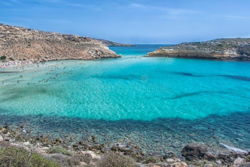 Lampedusa royaltyfri bild