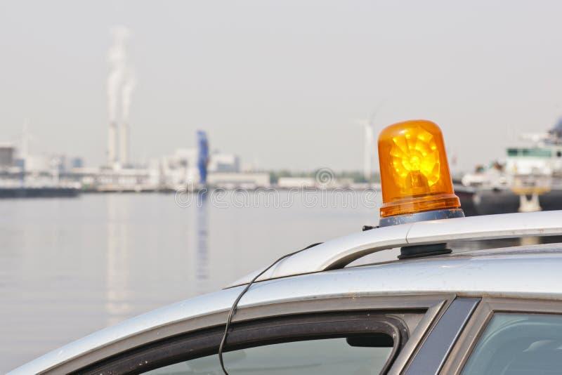 Lampeggiante Arancione Fotografia Stock Libera da Diritti