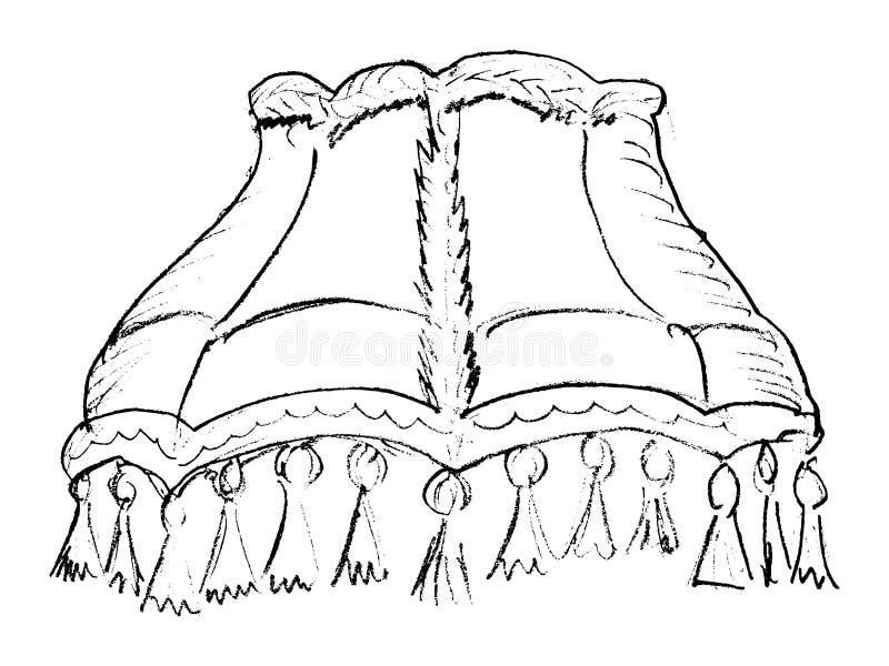 Lampekap royalty-vrije illustratie