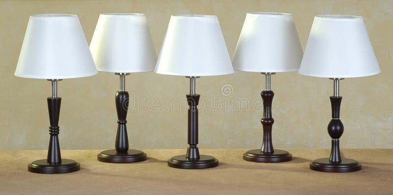 Lampen stock foto afbeelding bestaande uit muur decor for Foto lampen