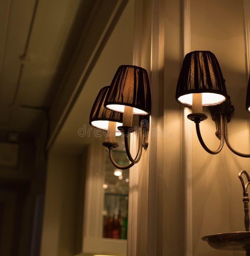 Lampen stock afbeelding