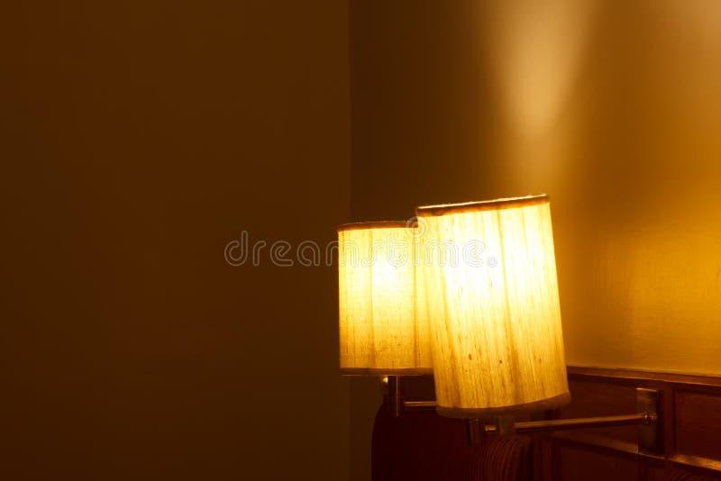 Lampen in de slaapkamer stock foto afbeelding bestaande for Foto lampen