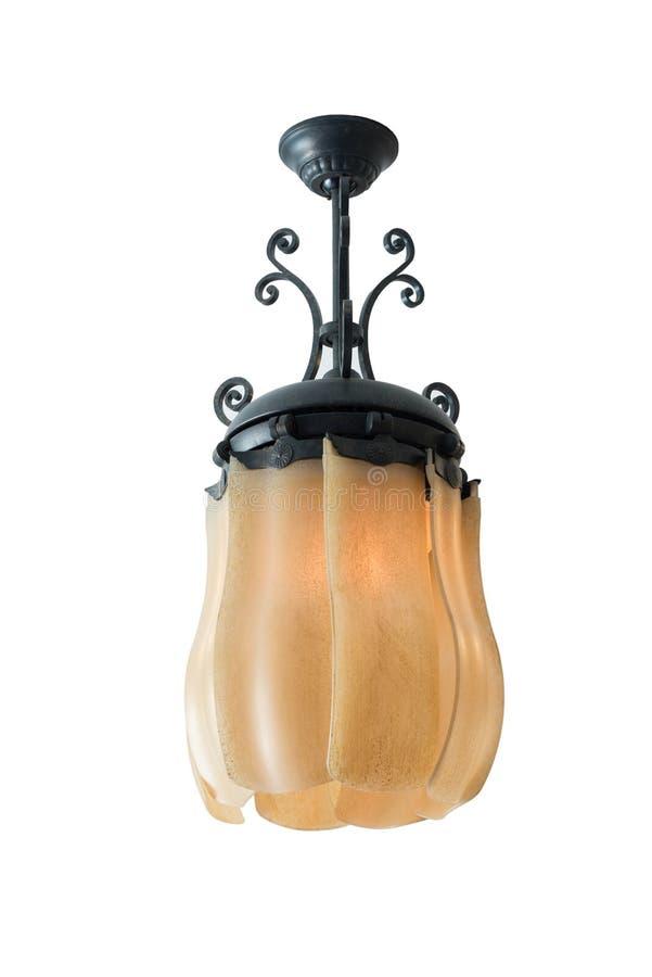 Lampenisolat des elektrischen Ventilators der Weinlese stockbilder