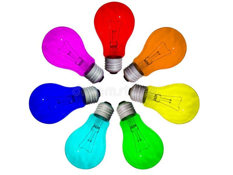 Lampenkreis stockbild