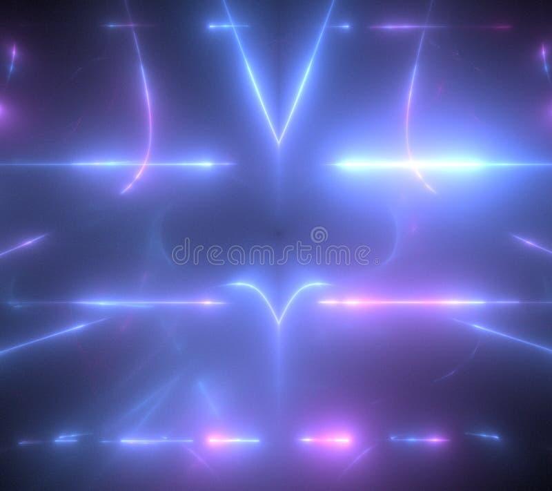 Lampes au néon illustration stock