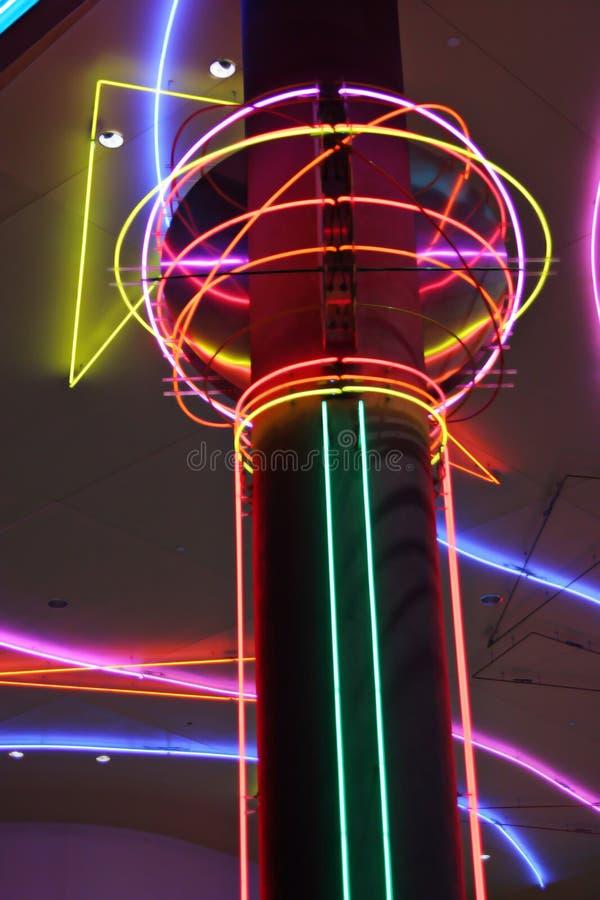 Lampes au néon de Las Vegas image libre de droits