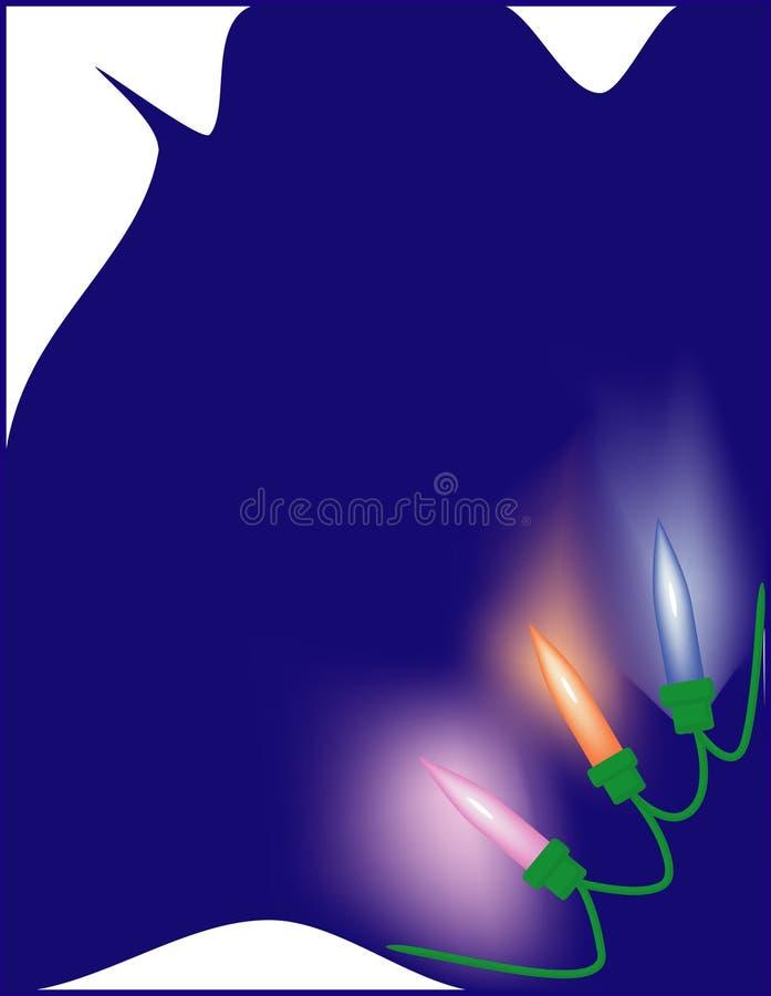 Lampes de Christmass images libres de droits