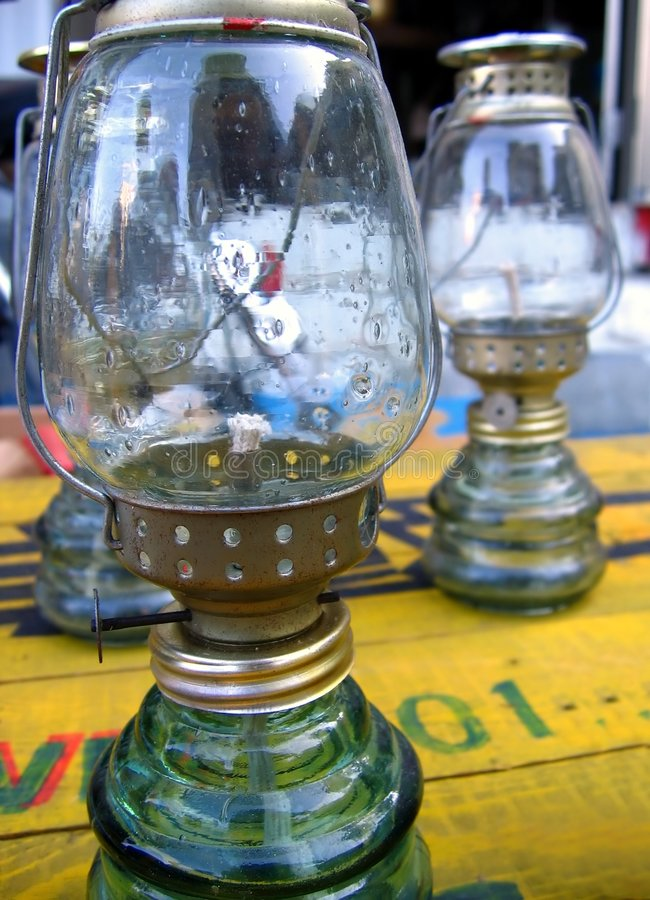 Lampes de kérosène photos stock