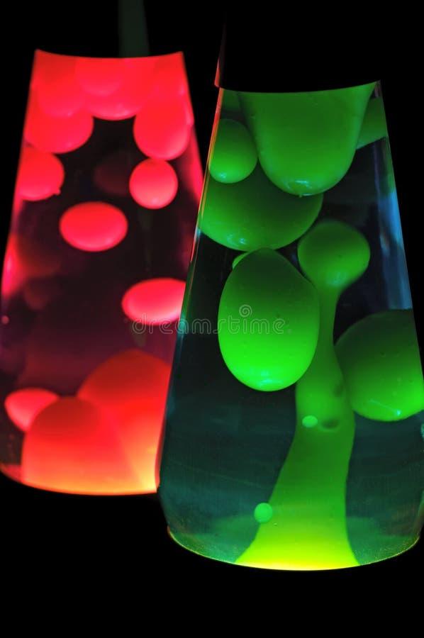 Lampes de lave image libre de droits