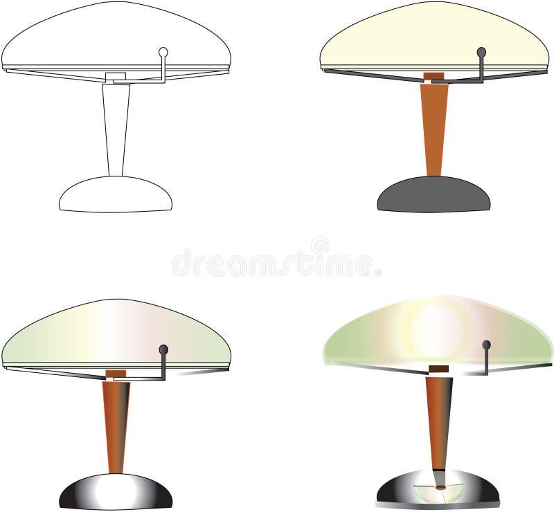 Lampes de Tableau photos stock
