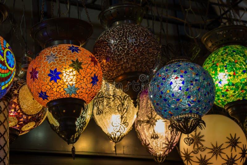 Download Lampes De Tabouret De Mosaïque De Bazar Grand Image stock - Image du conception, traditionnel: 87703513