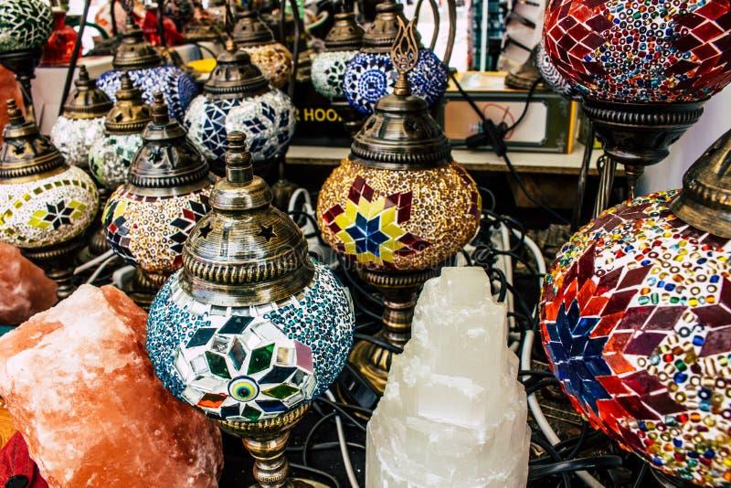 Lampes en verre image stock