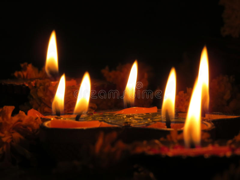 Lampes Saintes Image libre de droits