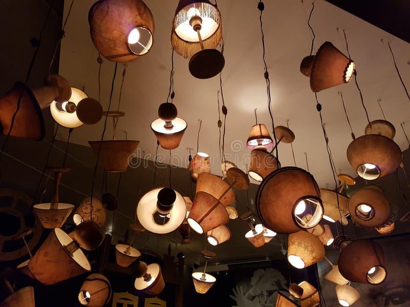 Lampes soulevées photos libres de droits