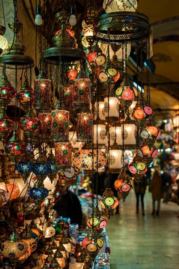 Lampes turques images libres de droits