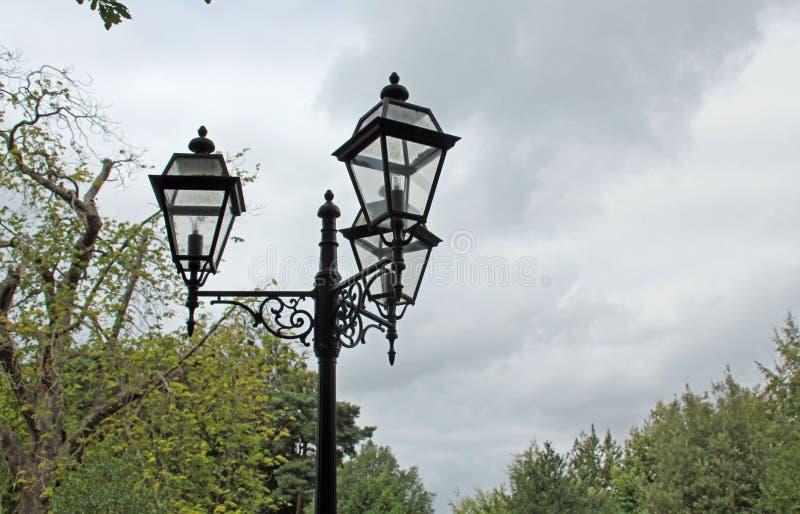 Lampes victoriennes photo libre de droits