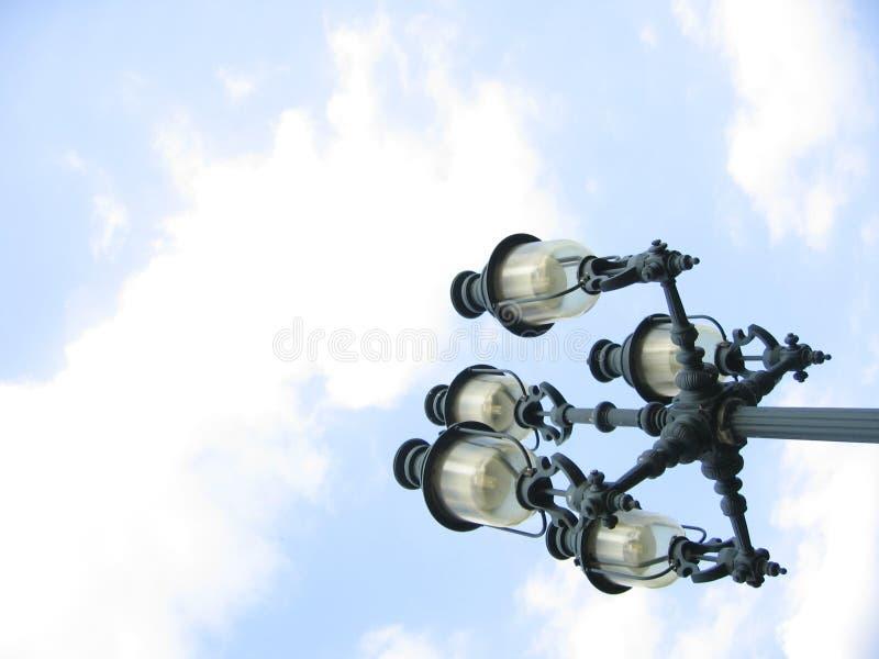 lampgata royaltyfri bild