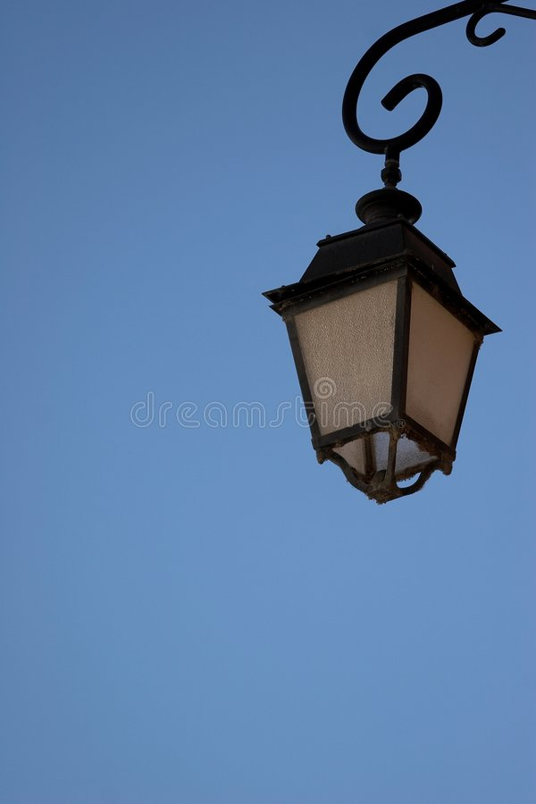 lampgata royaltyfri foto