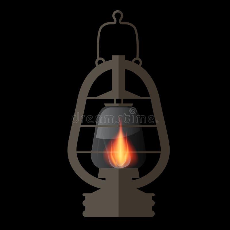Download Lampion, Benzynowej Lampy Ilustracja Ilustracja Wektor - Ilustracja złożonej z arte, zaciemnia: 57654826