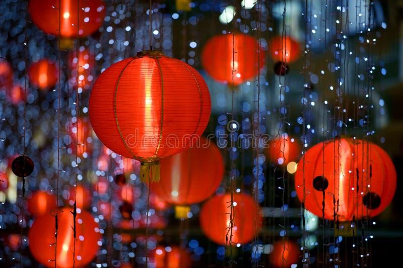 Lampion chinois image stock