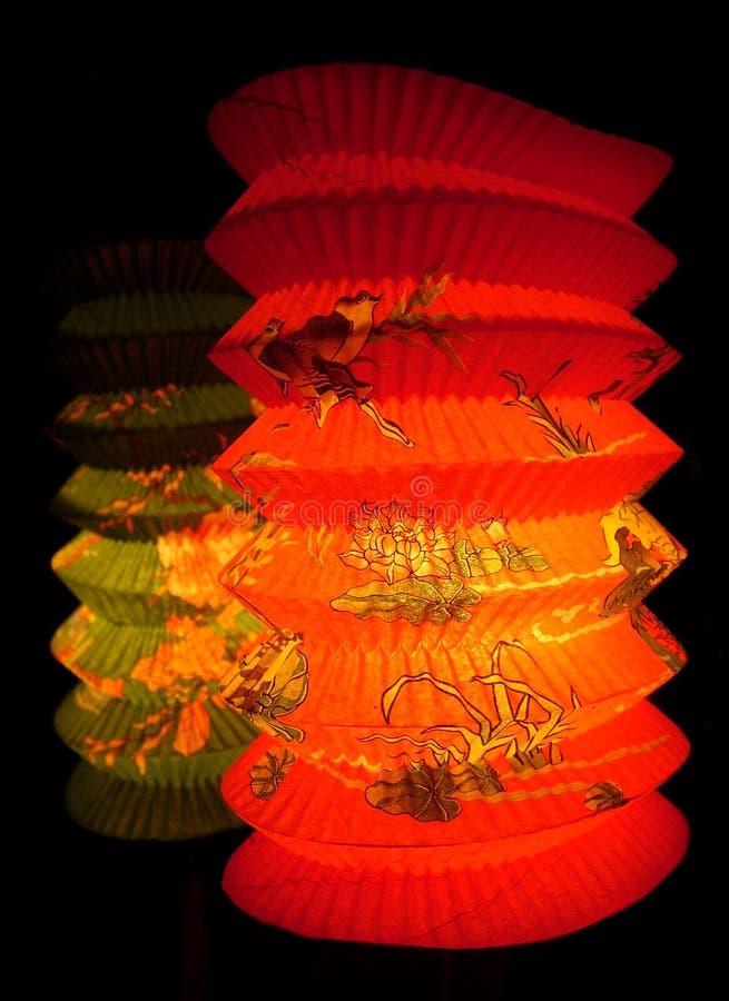 Lampion deux photo libre de droits