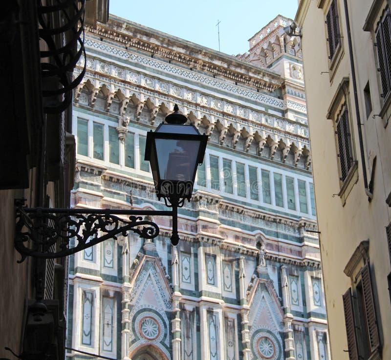 Lampion w Florence obraz royalty free