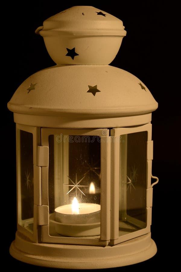 Lampion z świeczką zdjęcie royalty free