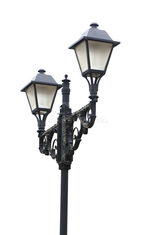 Lampione isolato fotografia stock libera da diritti