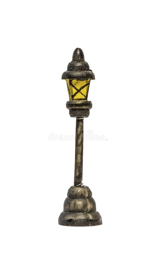 Lampione isolato fotografie stock