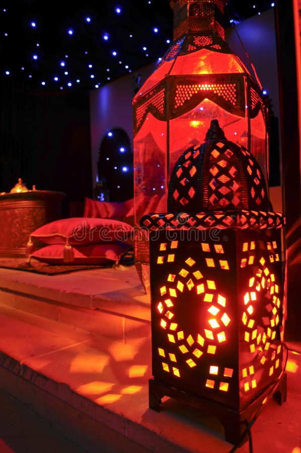 lampiony marokańscy obrazy royalty free
