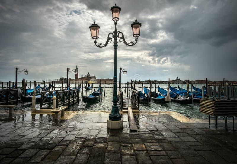 lampiony Venice zdjęcie stock