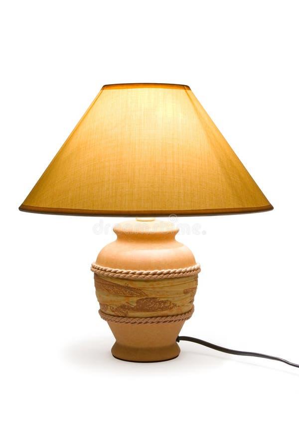 lamplighting arkivbild