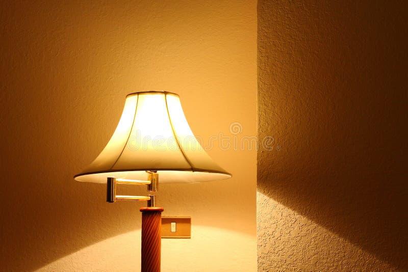lamplighting arkivfoto
