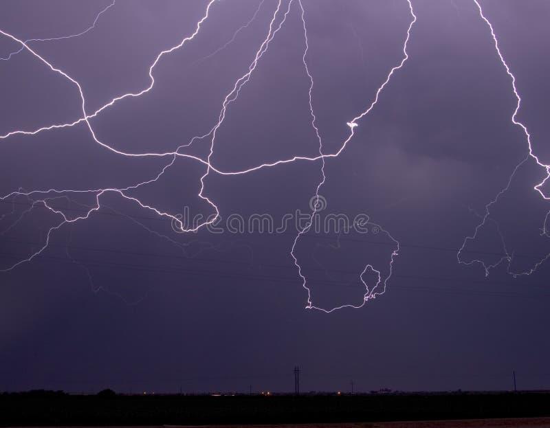 lampo della Nube--nube fotografia stock libera da diritti
