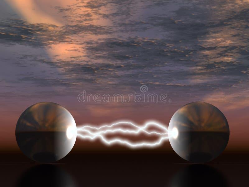 Lampo elettrico illustrazione vettoriale