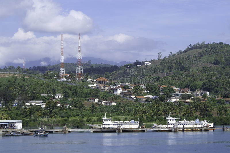 Download Lampong Harbor Royalty Free Stock Image - Image: 13812936