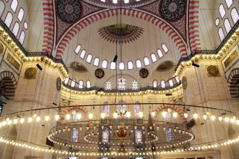 Lampor i moské royaltyfri foto