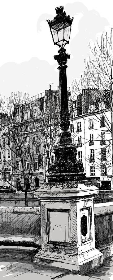 Free Lampost In Paris Royalty Free Stock Photos - 26493808