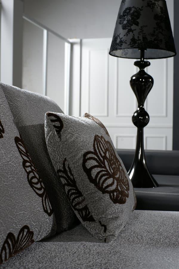 lampowego pokoju siedząca kanapa obraz stock