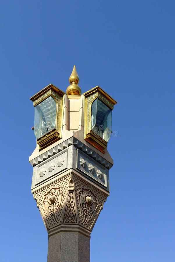 lampowy meczetowy nabawi s zdjęcia royalty free