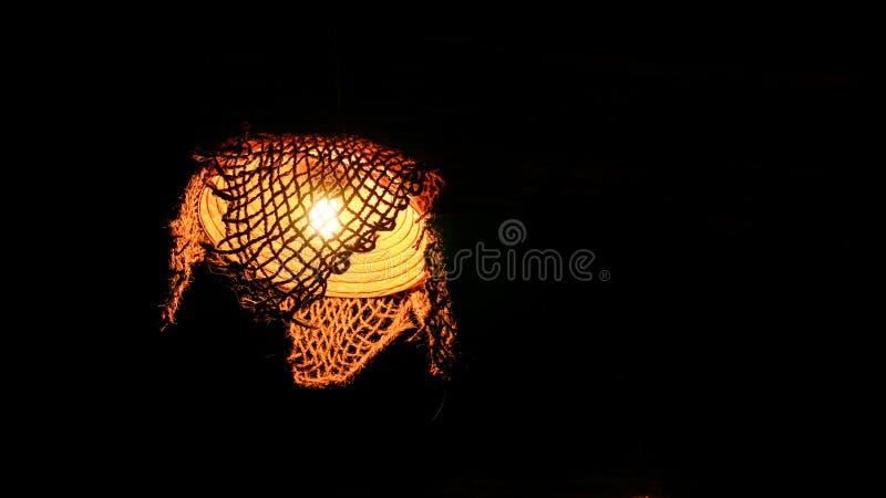 Lampowy zmrok zdjęcie stock