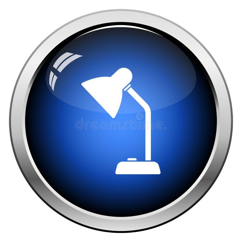 Lamppictogram vector illustratie