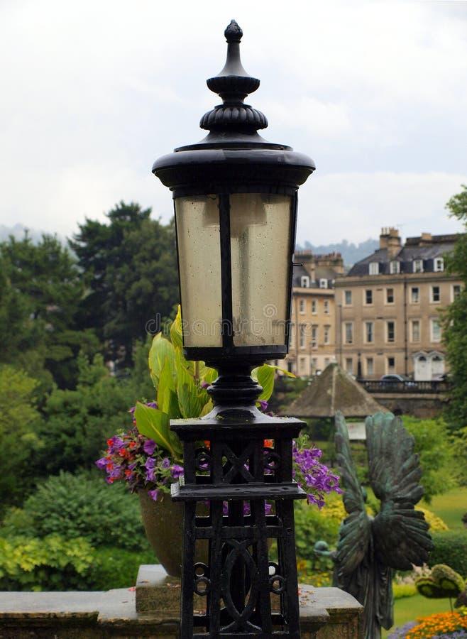 Lampplatsbad royaltyfria foton