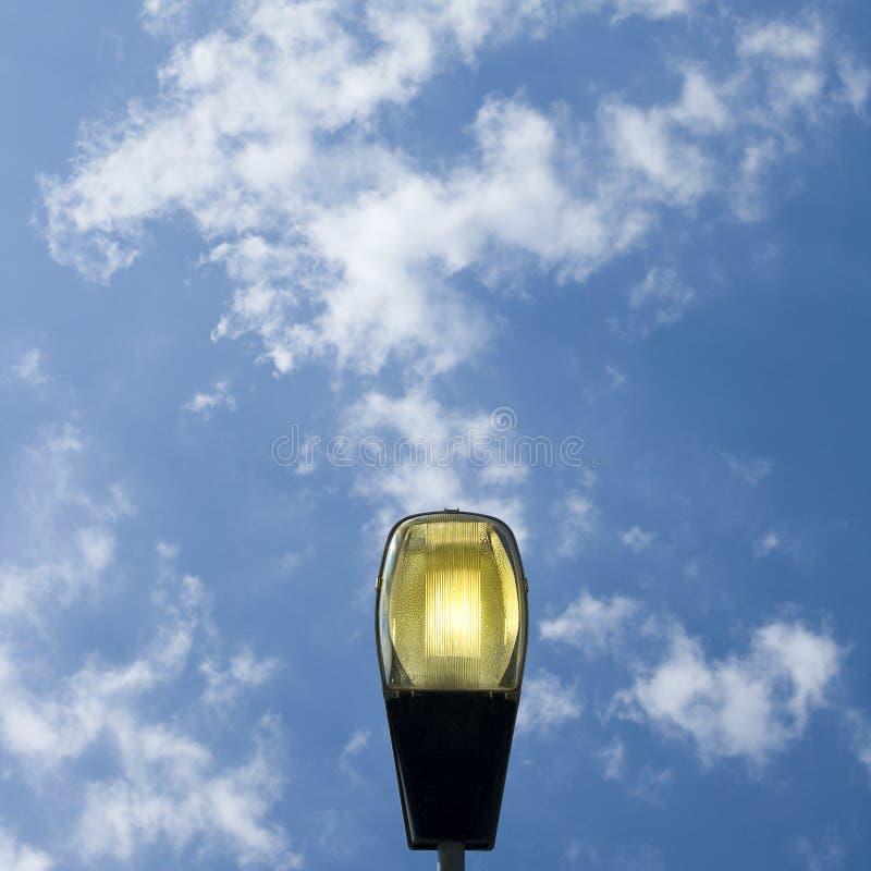 lamppost φως στοκ εικόνες