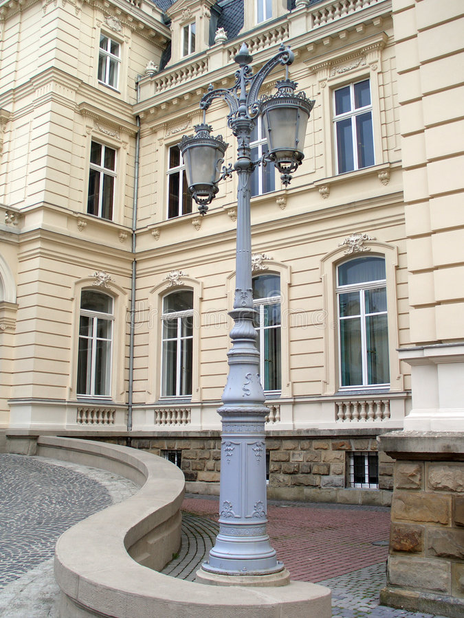 Download Lamppost stock image. Image of wrought, lamppost, light - 136049